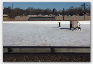 Providing Commercial Roofing in the Little Rock Area.